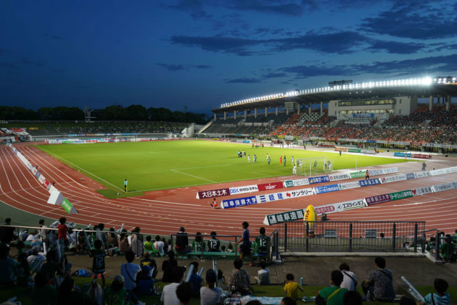 長良川競技場 FC岐阜のナイターゲーム